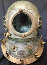 Toa Diving Helmet Japanese Antique Divers From Japan Vintage Very Good Condition