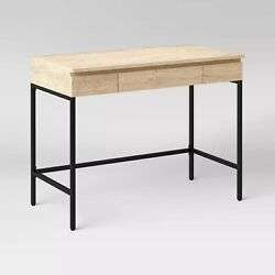 Loring Lift Top Standing Desk Vintage Oak - Free Shipping And Free Return