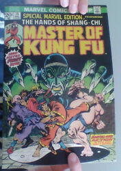 Special Marvel Edition 15 Comic Dec 1973 1st Shang-chi Master Of Kung-fu Mcu Vf-