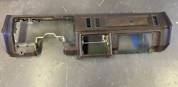 1981 - 1987 Buick Regal Dash Board Shell Brown Oem Genuine Gm Core For Parts