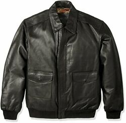 Excelled Men's Big And Tall Leather Flight Jacket - Choose Sz/color