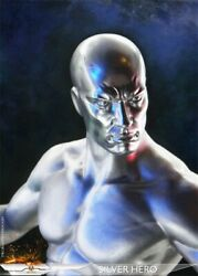 Add Toys 1/6 Ad05 Silver Surfer Norrin Radd Normal Ver. Action Figure Doll Toy