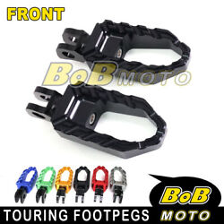 Front Rider Wide Fat Foot Pegs Pedal For Ducati 916 996 Monster S4r S2r 1000