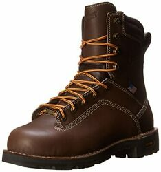 Danner Men's Quarry Usa 8-inch Br At Work Boot, Brown