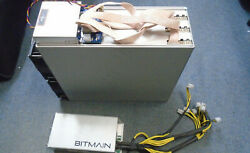 Used Bitmain Antminer E3 190mh/s Eth Miner Usa Seller With Psu Power Supply