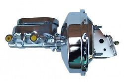 Leed Brakes 2f6 Power Brake Booster And Flat Top Master Cylinder Combo For Apollo