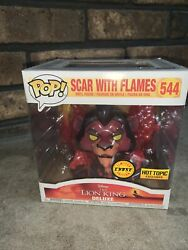 Funko Pop Chase Scar With Flames Red 544 Hot Topic Exclusive