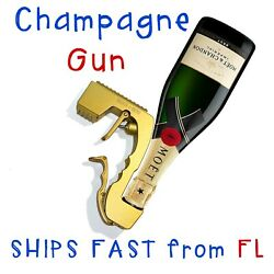 Champagne Gun - Beer Champagne Dispenser Sprayer - Adult Pool Party Toy- July 4