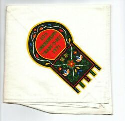 Boy Scout 10th Amaquonsippi Trail Trade-o-ree 1971 Neckerchief