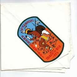 Boy Scout 14th Amaquonsippi Trail Trade-o-ree 1975 Neckerchief