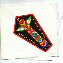 Boy Scout 9th Amaquonsippi Trail Trade-o-ree 1970 Neckerchief
