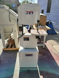 Used Jet J-8201k 14 In. 115v 1phase Vertical Metal/wood Cutting Band Saw 414500