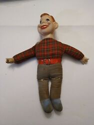 Vintage Antique Howdy Doody Doll Puppet 7