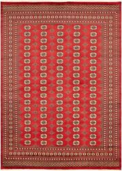 Vintage Hand-knotted Carpet 8and0392 X 9and03911 Traditional Geometric Wool Area Rug