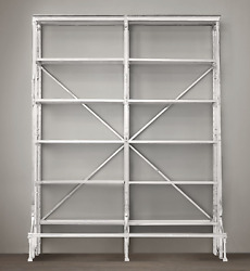 Restoration Hardware French Library Double Shelving