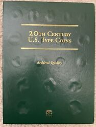 Book Of 20th Century Us Type 24 Coins. Morgan, Liberty Walking, Peace, Barber…