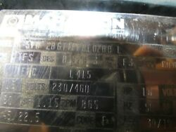 General Purpose Motor, 15 Hp, 3-phase, Nameplate Rpm 875, Voltage 230/460v Ac