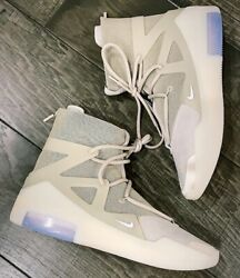Nike Air Fear Of God 1 - Oatmeal - Mens Us Size 14 Essentials Jerry Lorenzo New