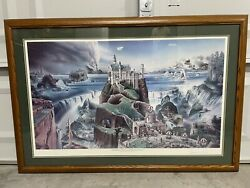 Infamous No. 19 Loyal H. Chapman Signed Certified Print Rare