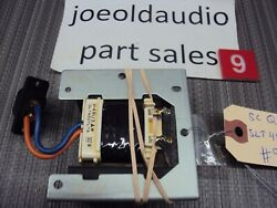 Technics Sl-q300 Turntable Transformer And Ac Plug. Tested. Parting Out Sl-q300.