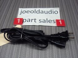 Technics Sl-q300 Turntable Original Ac Line Cord. Tested. Parting Out Sl-q300.