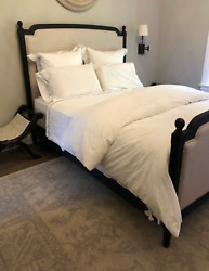 Restoration Hardware And039vienneand039 Upholstered Bed Q
