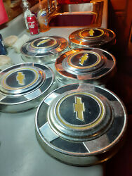 1973 To 1987 Chevy Truck Poverty Hub Caps - Set Of 5