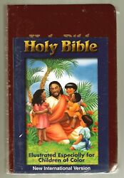 Holy Bible - Children Of Color Edition Niv Brand New - Sealed  Free Shipping