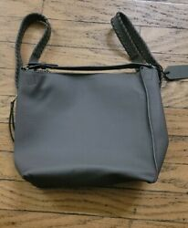 Nwt All Saints Allsaints Kita Leather Backpack Taupe Grey 378
