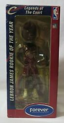 Lebron James Rookie Of The Year Legends Of The Court 2004 Bobblehead