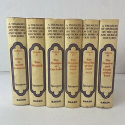 A Treasury Of Spurgeon On The Life And Work Of Our Lord Complete 6 Volume Set