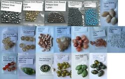 Beads - Assorted Colors And Sizes - Your Choice