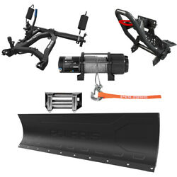 Polaris Oem Glacier Pro 66 Steel Snow Plow System For All General Side By Sides