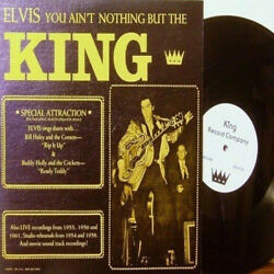 King Elvis Presley Elvis You Ain't Nothing But The King '54-'61 Tv♫movie♫live