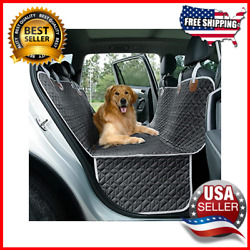 Dog Car Seat Cover For Cars Trucks Suvs Waterproof Hammock Back Seat Cover