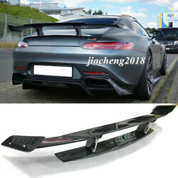 Carbon Fiber Wing Rear Spoiler Renn Style For Mercedes Benz Amg Gt/gts 2016-up