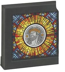Christ The Savior 2021 2 Oz Pure Silver High Relief Coin Cameroon