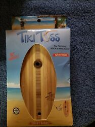 Tiki Toss / 100 Bamboo Hook And Ring Patio Party Game / Short Board Edition / New