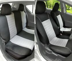 Full Set Mesh Car Seat Covers Accessories Easy Install Plush Comfort