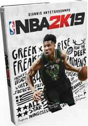 Nba 2k19 Steelbook Edition - Day One Limited - G2 - Game Included - Xbox One