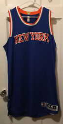 Ny Knicks Blank Adidas Rev 30 Team Issued Jersey Authentic Pro Cut Derrick Rose