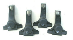Set Of 4 - Thule 300/1050 Gutter Foot Pack Roof Racks - Strong Cond.