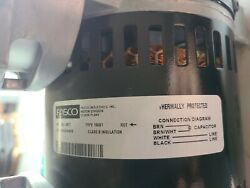 Fasco 185b1 Motor Thermally Protected