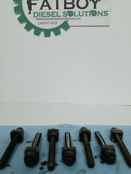 Detroit Dd15 906 Qty 7 Intake Rocker Shaft Hold Down Bolts With Qty 7 Spacer Oem