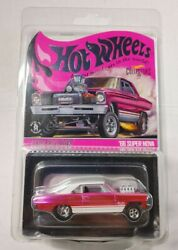 New - Hot Wheels Rlc Exclusive Pink Andrsquo66 Super Nova In Hand - Ships Today