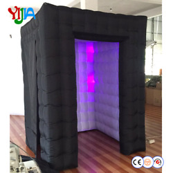 High Quality Nice Price 667.3ft Inflatable Cabin Led Inflatable Photo Booth Po