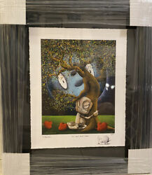 Fabio Napoleoni Andldquowe Need Each Otherandrdquo Sold Out Signed Limited Edition And Framed
