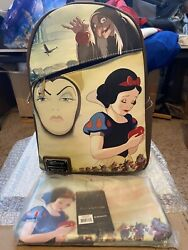 Loungefly Dec Original 600 Snow White With Tags Mini Backpack And Coin Purse Nwt