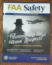 Faa Safety Briefing Magazine Jul-aug 2018 With Two Pilot Reference Cards