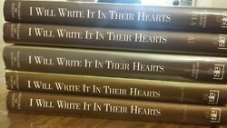I Will Write It In Their Heart By Schneerson, Menachem M. 5 Vol 1,2,4,5,8 Touger